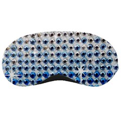 Rainbow Colored Bling Sleep Eye Mask by artattack4all