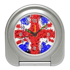 Distressed British Flag Bling Desk Alarm Clock by artattack4all