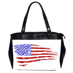 Sparkling American Flag Twin-sided Oversized Handbag
