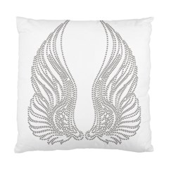 Angel Bling Wings Single Sided Cushion Case by artattack4all