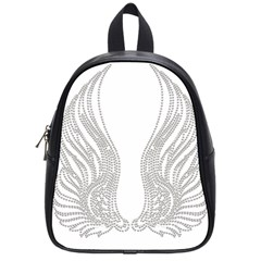 Angel Bling Wings Small School Backpack by artattack4all