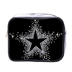 Sparkling Bling Star Cluster Single Sided Cosmetic Case by artattack4all