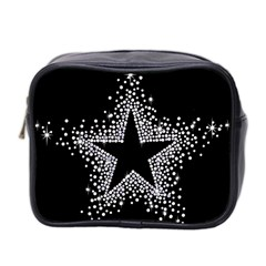 Sparkling Bling Star Cluster Twin Sided Cosmetic Case by artattack4all