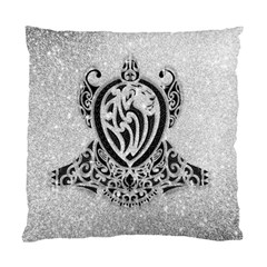 Diamond Bling Lion Single-sided Cushion Case by artattack4all