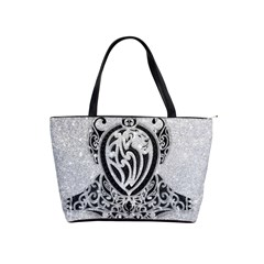 Diamond Bling Lion Large Shoulder Bag by artattack4all