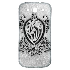 Diamond Bling Lion Samsung Galaxy S3 S Iii Classic Hardshell Back Case by artattack4all