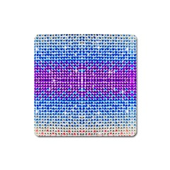 Rainbow Of Colors, Bling And Glitter Large Sticker Magnet (square) by artattack4all