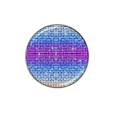 Rainbow Of Colors, Bling And Glitter 4 Pack Golf Ball Marker (for Hat Clip)