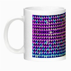 Rainbow Of Colors, Bling And Glitter Glow In The Dark Mug by artattack4all