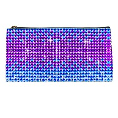 Rainbow Of Colors, Bling And Glitter Pencil Case