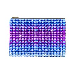 Rainbow Of Colors, Bling And Glitter Large Makeup Purse