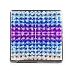 Rainbow Of Colors, Bling And Glitter Card Reader With Storage (square)