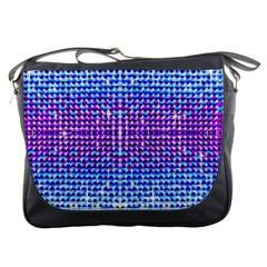 Rainbow Of Colors, Bling And Glitter Messenger Bag by artattack4all
