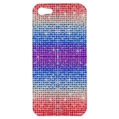 Rainbow Of Colors, Bling And Glitter Apple Iphone 5 Hardshell Case by artattack4all