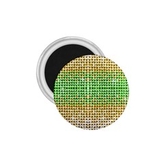 Diamond Cluster Color Bling Small Magnet (round) by artattack4all