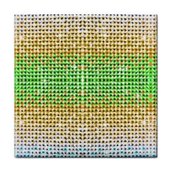 Diamond Cluster Color Bling Face Towel by artattack4all