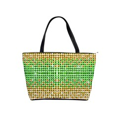 Diamond Cluster Color Bling Large Shoulder Bag by artattack4all