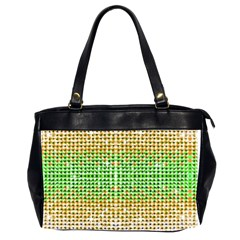 Diamond Cluster Color Bling Twin Sided Oversized Handbag by artattack4all