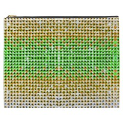 Diamond Cluster Color Bling Cosmetic Bag (xxxl) by artattack4all