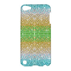 Diamond Cluster Color Bling Apple Ipod Touch 5 Hardshell Case by artattack4all