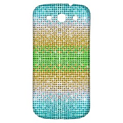 Diamond Cluster Color Bling Samsung Galaxy S3 S Iii Classic Hardshell Back Case by artattack4all