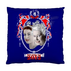 Queen Elizabeth 2012 Jubilee Year Single-sided Cushion Case by artattack4all