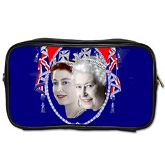 Queen Elizabeth 2012 Jubilee Year Single Sided Personal Care Bag by artattack4all