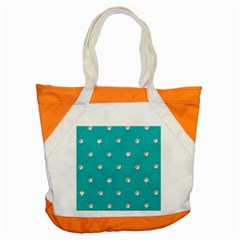 Turquoise Diamond Bling Snap Tote Bag by artattack4all