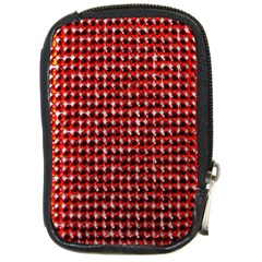 Deep Red Sparkle Bling Digital Camera Case