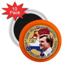 King Willem Alexander 10 Pack Regular Magnet (round) by artattack4all