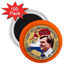 King Willem Alexander 100 Pack Regular Magnet (round) by artattack4all
