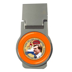 King Willem-alexander Money Clip (round) by artattack4all