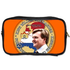 King Willem Alexander Twin Sided Personal Care Bag by artattack4all