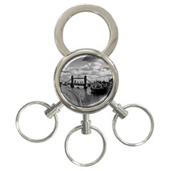 River Thames Waterfall 3-ring Key Chain by Londonimages