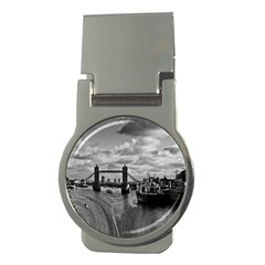 River Thames Waterfall Money Clip (round) by Londonimages