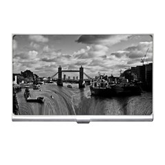 River Thames Waterfall Business Card Holder by Londonimages