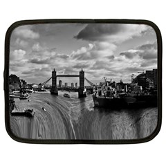 River Thames Waterfall 12  Netbook Case