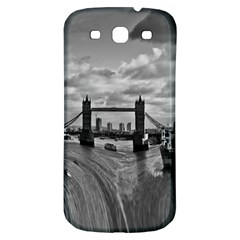 River Thames Waterfall Samsung Galaxy S3 S Iii Classic Hardshell Back Case by Londonimages