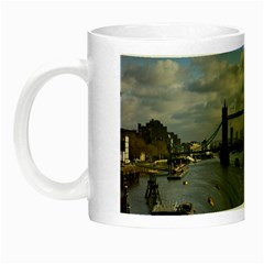 Thames Waterfall Color Glow In The Dark Mug