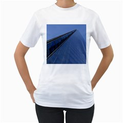 The Shard London White Womens  T-shirt by Londonimages