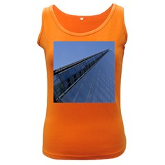 The Shard London Dark Colored Womens'' Tank Top by Londonimages