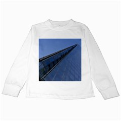 The Shard London White Long Sleeve Kids'' T Shirt