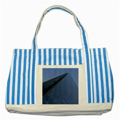 The Shard London Blue Striped Tote Bag