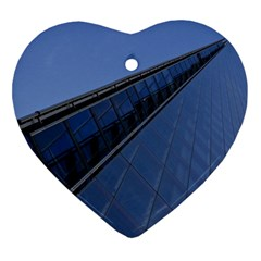 The Shard London Heart Ornament (two Sides) by Londonimages