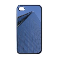 The Shard London Black Apple Iphone 4 Case by Londonimages