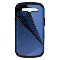 The Shard London Samsung Galaxy S Iii Hardshell Case (pc+silicone) by Londonimages