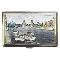River Thames Art Cigarette Box by Londonimages
