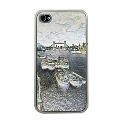 River Thames Art Apple Iphone 4 Case (clear)