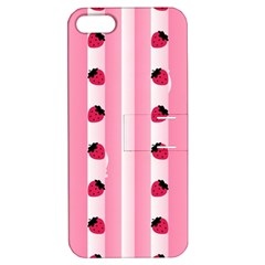 Strawberry Cream Cake Apple Iphone 5 Hardshell Case With Stand