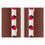 Choco Strawberry Cream Cake Glasses Cloth (Large) Front